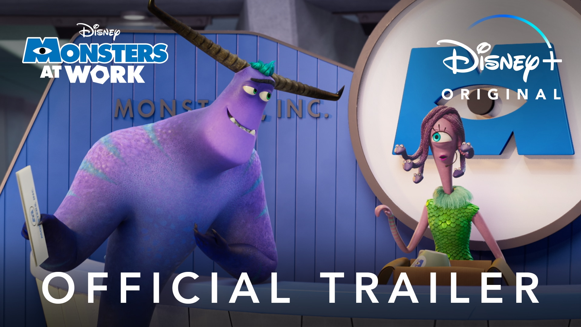 Monsters At Work   Official Trailer   Disney+