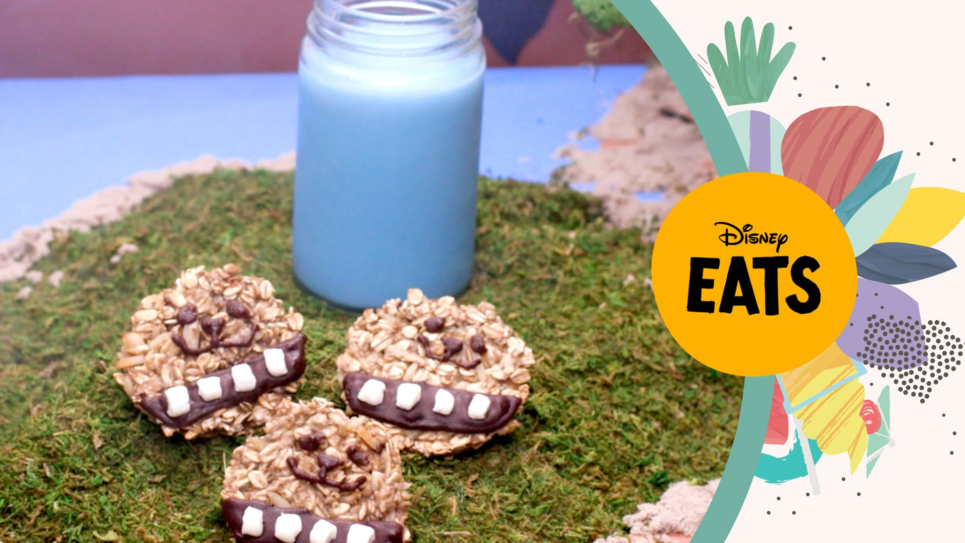 Star Wars, Chewie Chews & Blue Milk | Disney Eats