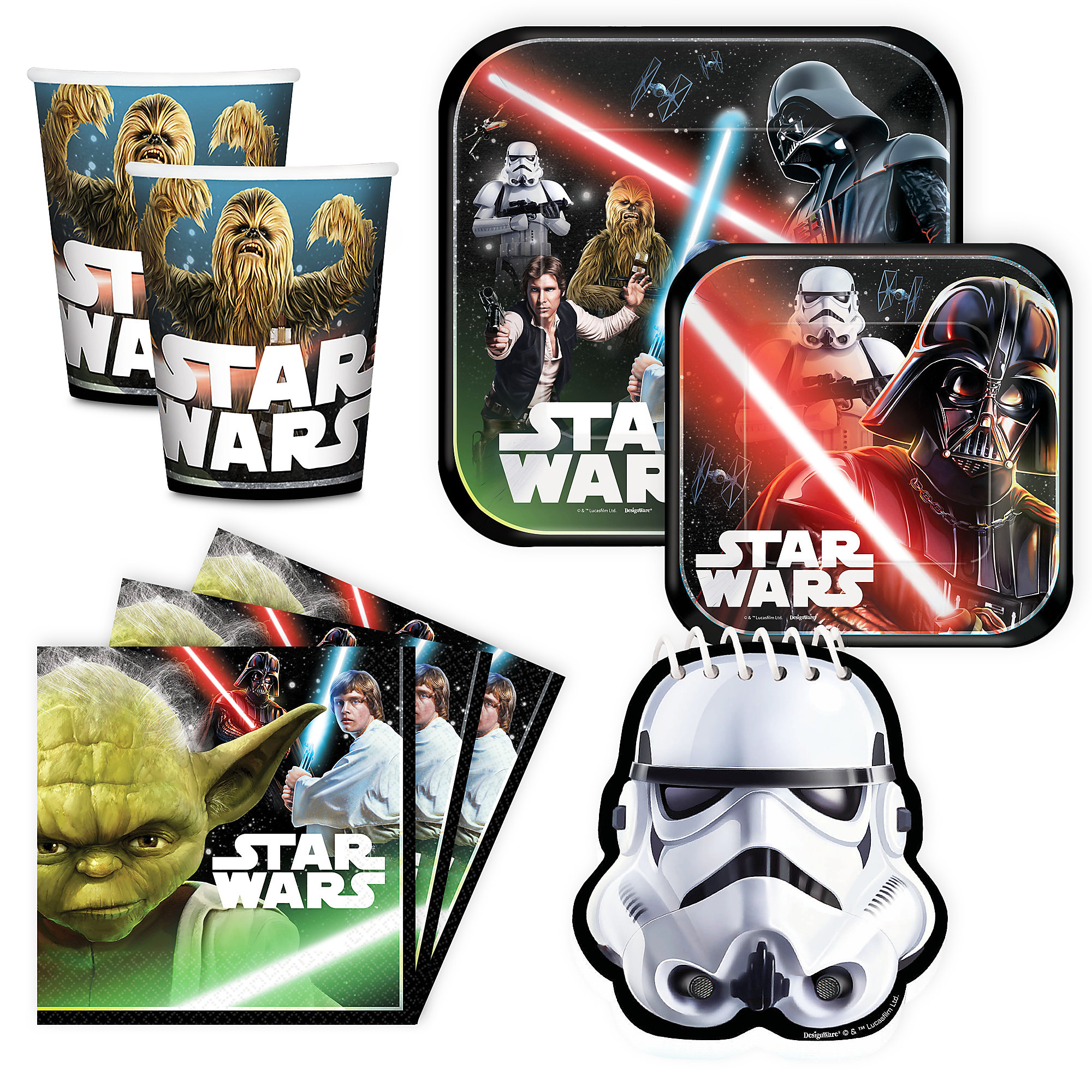 Star Wars Disney Party Collection