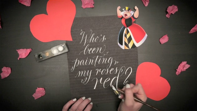 Calligraphy Artist Creates Amazing Disney Villain Quotes Part 2 | Oh My Disney