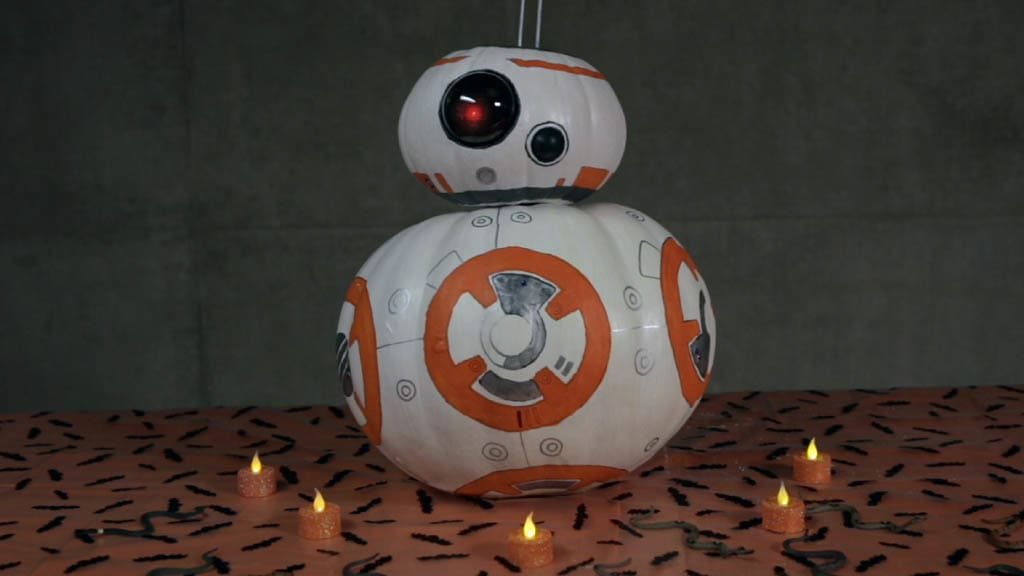 Star Wars: The Force Awakens BB-8 Pumpkin