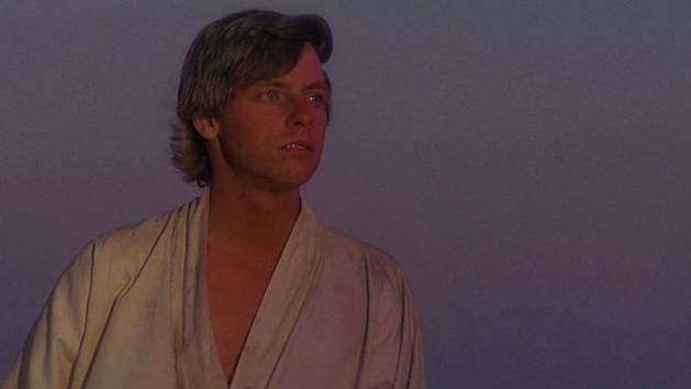 Star Wars - Luke Watching the Sunset