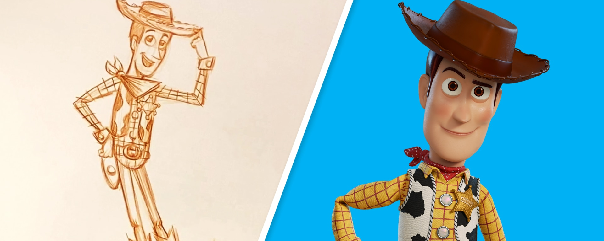 Howdy, Partner! How to Draw Woody From Toy Story