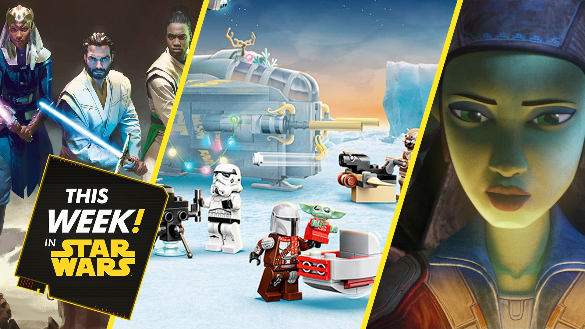 LEGO Counts Down to the Holidays, Vanessa Marshall Chats Hera Syndulla, and More!