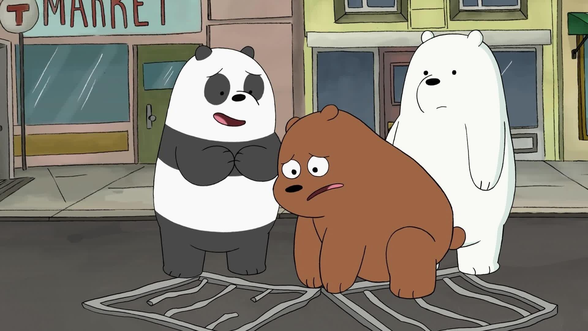 We Bare Bears - Bären wie wir - Wir und das Hundehotel / Wir und der Tanzwettbewerb