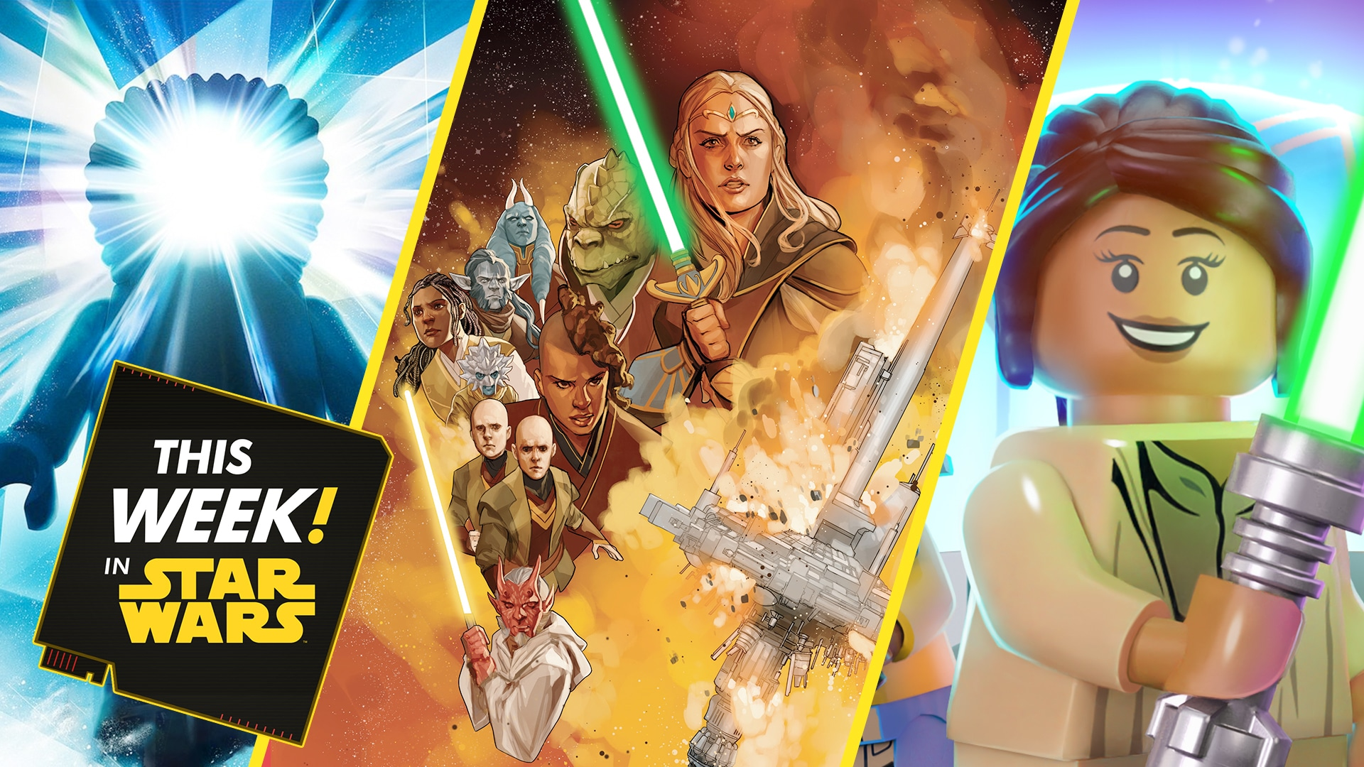 Disaster Strikes The High Republic, Castaway with LEGO, and More!
