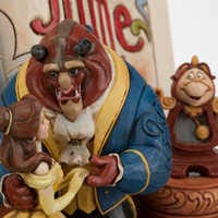 Image of Beauty and the Beast Story Book Figurine by Jim Shore # 5