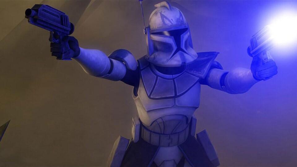 """Clone Captain Rex in """"The Clone Wars"""""""