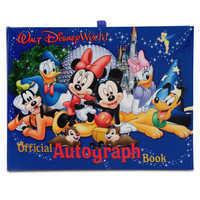 Image of Official Walt Disney World Resort Autograph Book # 1