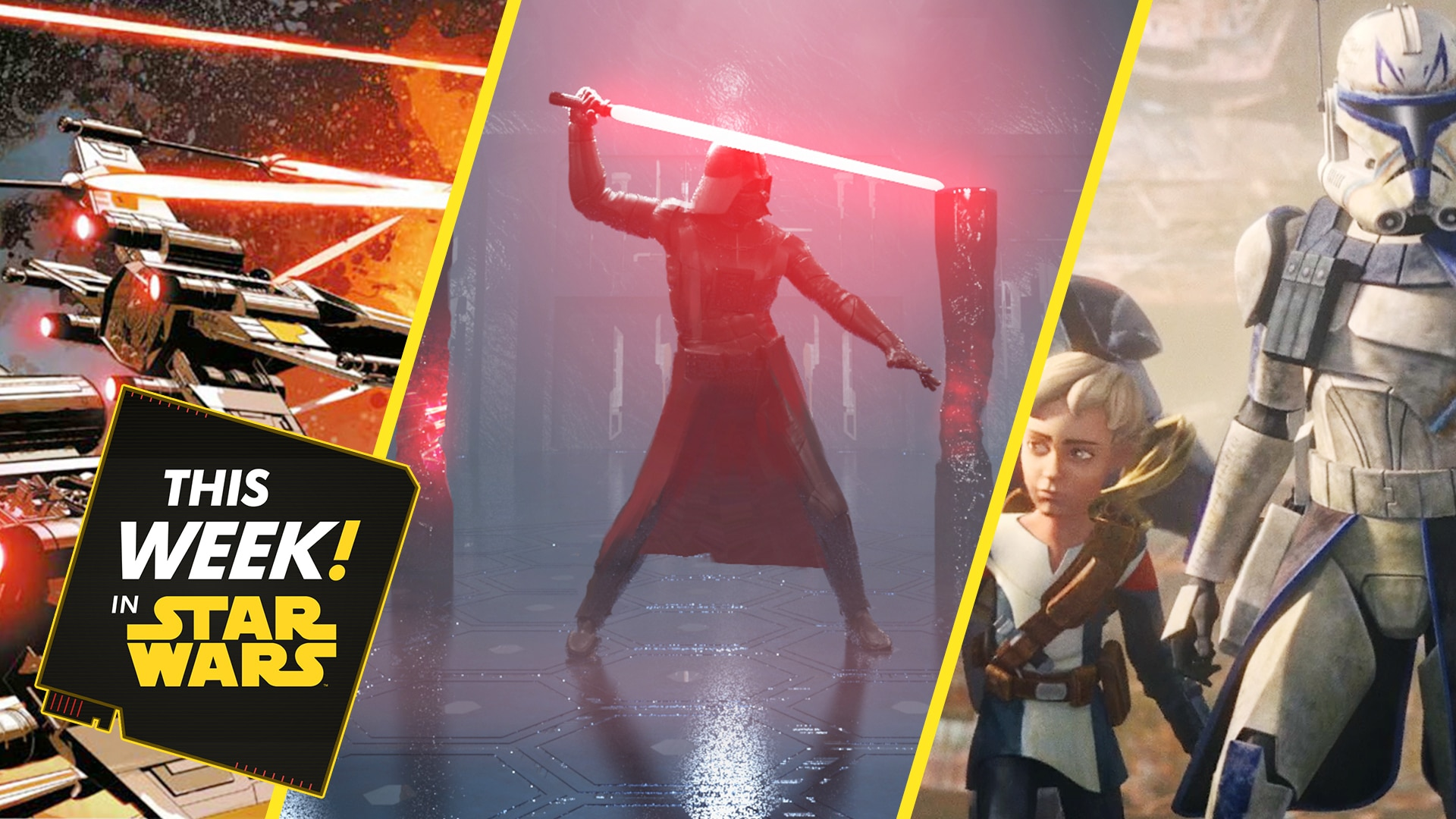 New Vader Immortal Art, Battles that Shaped the Galaxy, and More!