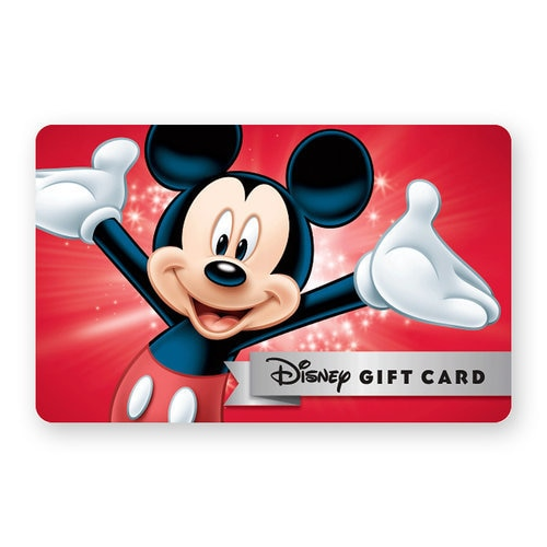 Disney Gift Card Egift Shopdisney