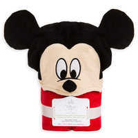 Image of Mickey Mouse Hooded Towel for Baby - Personalized # 4