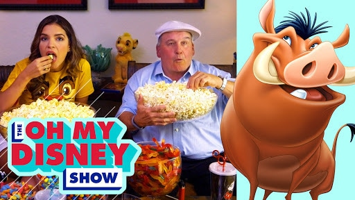 Watch The Lion King With Ernie Sabella | Oh My Disney
