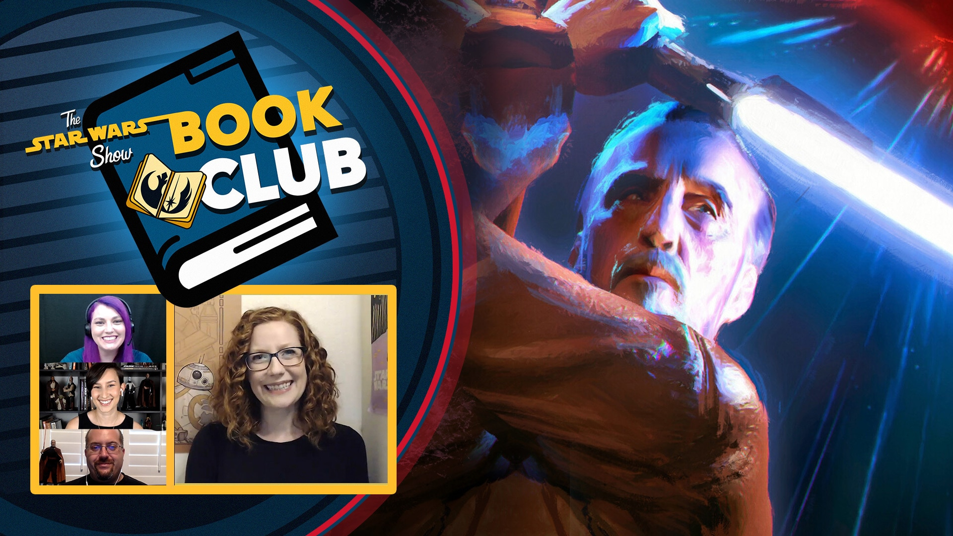 Dooku: Jedi Lost | The Star Wars Show Book Club