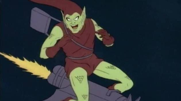 Marvel Mash-Up: Green Goblin