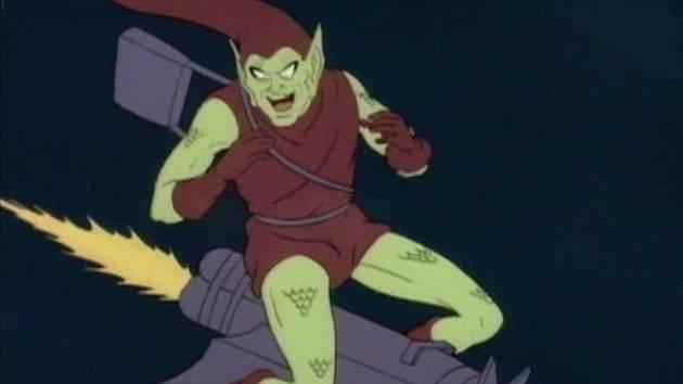 Marvel Mash-Up: Green Goblin