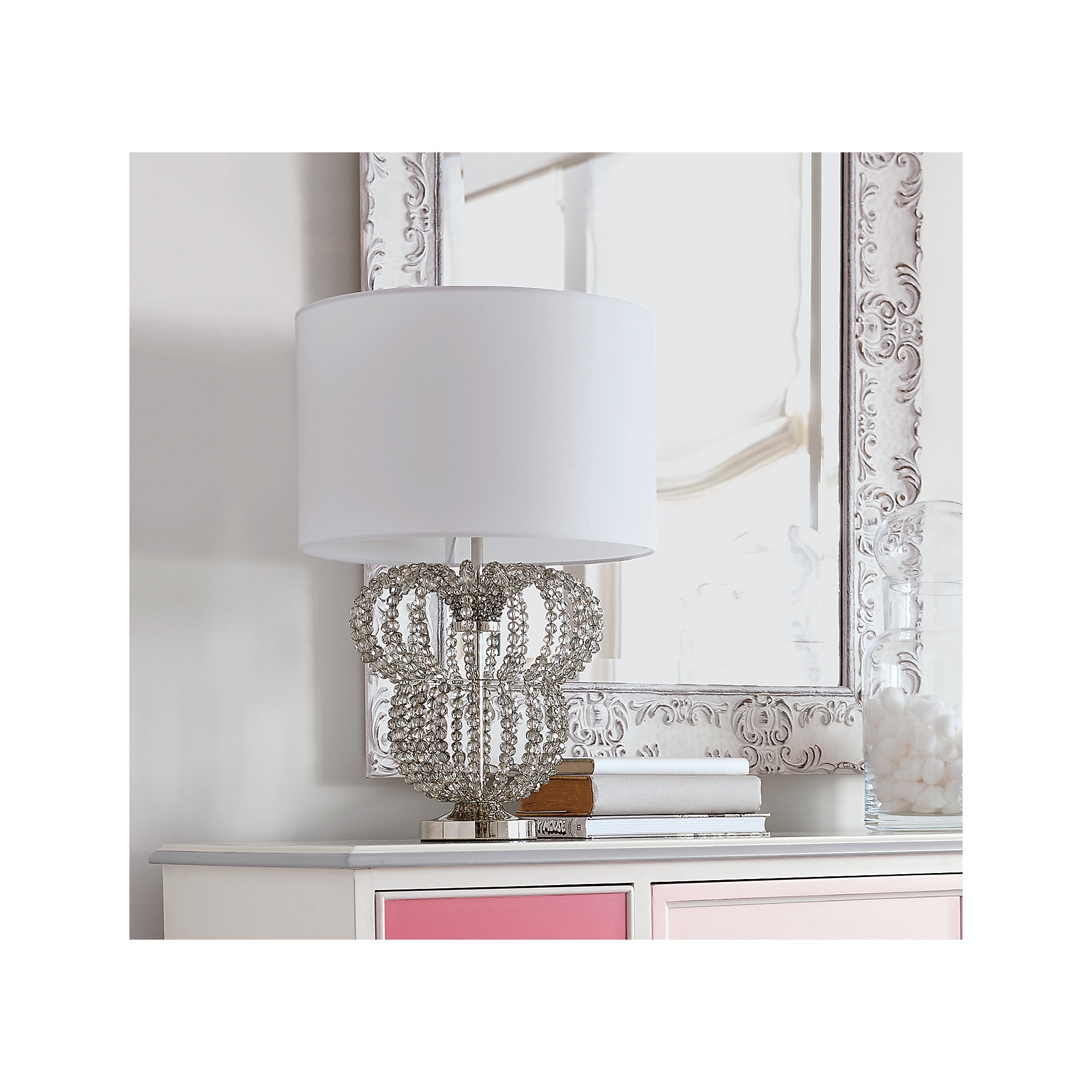 Thumbnail Image Of Minnie Mouse Beaded Accent Lamp By Ethan Allen # 2