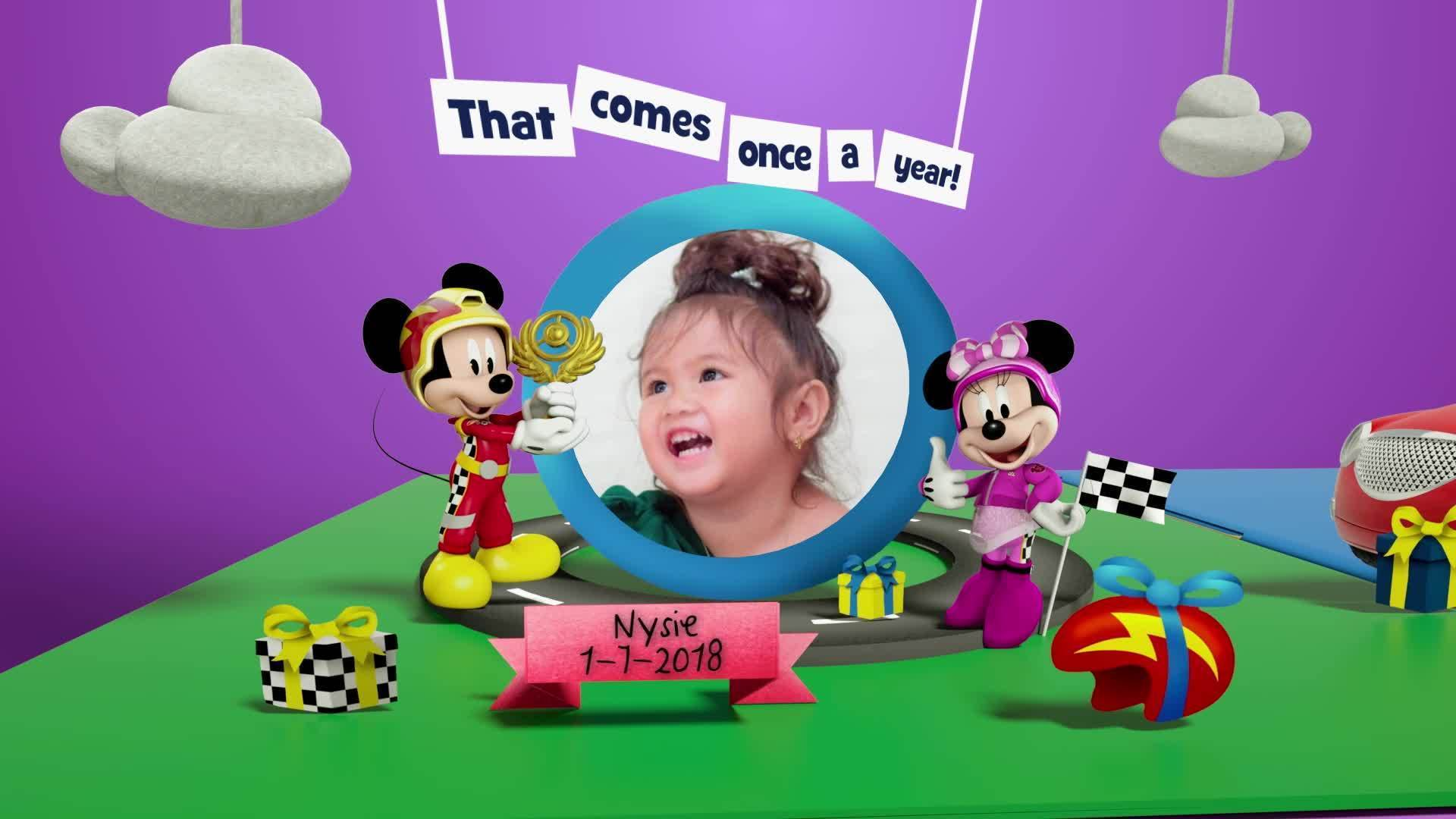 Disney Junior Birthday Book 2021 July Album 2