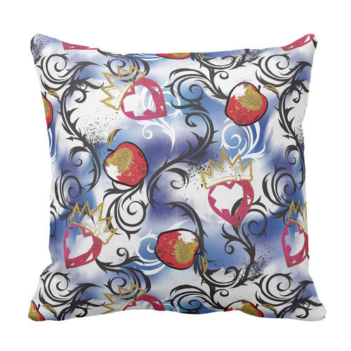 Descendants 2 Evie Apple Pattern Pillow - Customizable