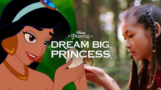 Dream Big, Princess – Side-by-Side Jasmine | Disney Channel