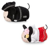 Mickey and Minnie Mouse ''Tsum Tsum'' Plush Set - Mini - 3 1/2'' - Mexico