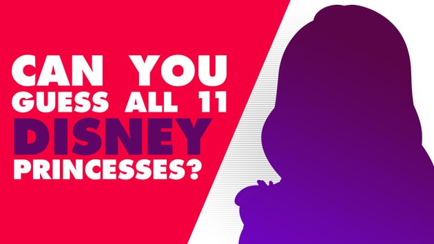 Guess The Disney Princesses From Their Silhouettes