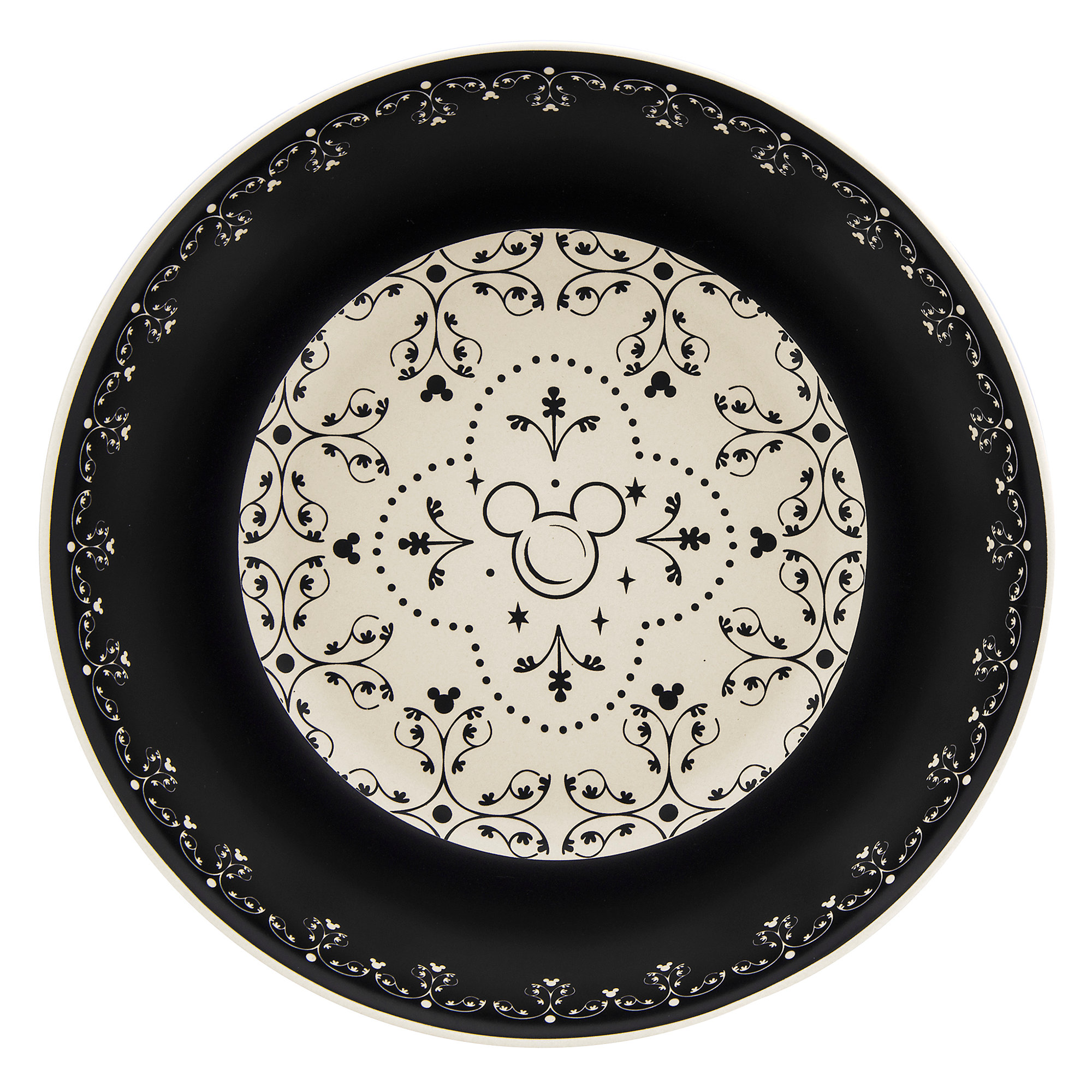 Thumbnail Image of Mickey Mouse Icon Bowl Set - Disney Dining Collection - Black / White  sc 1 st  shopDisney : mickey mouse dinnerware set - pezcame.com