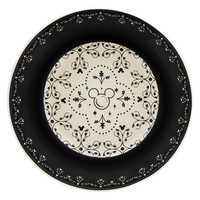 Image of Mickey Mouse Icon Bowl Set - Disney Dining Collection - Black / White # 2