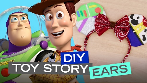 DIY Toy Story Ears