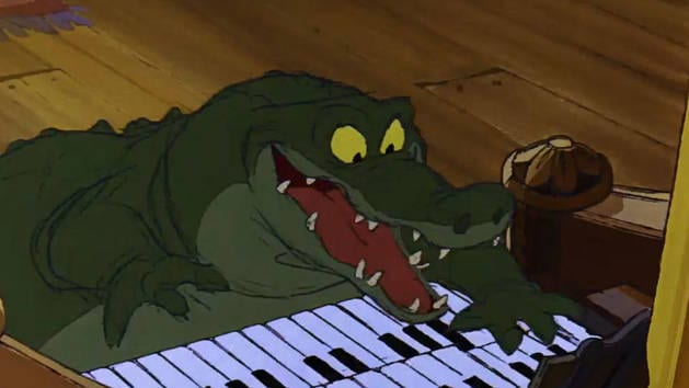 Gators Play the Organ - Clip - The Rescuers