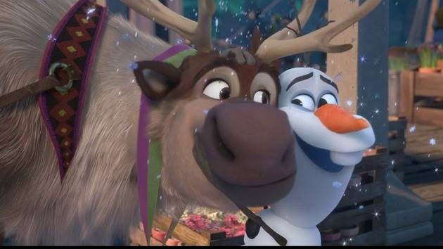 Frozen Sing-Along Edition on DVD and Digital HD