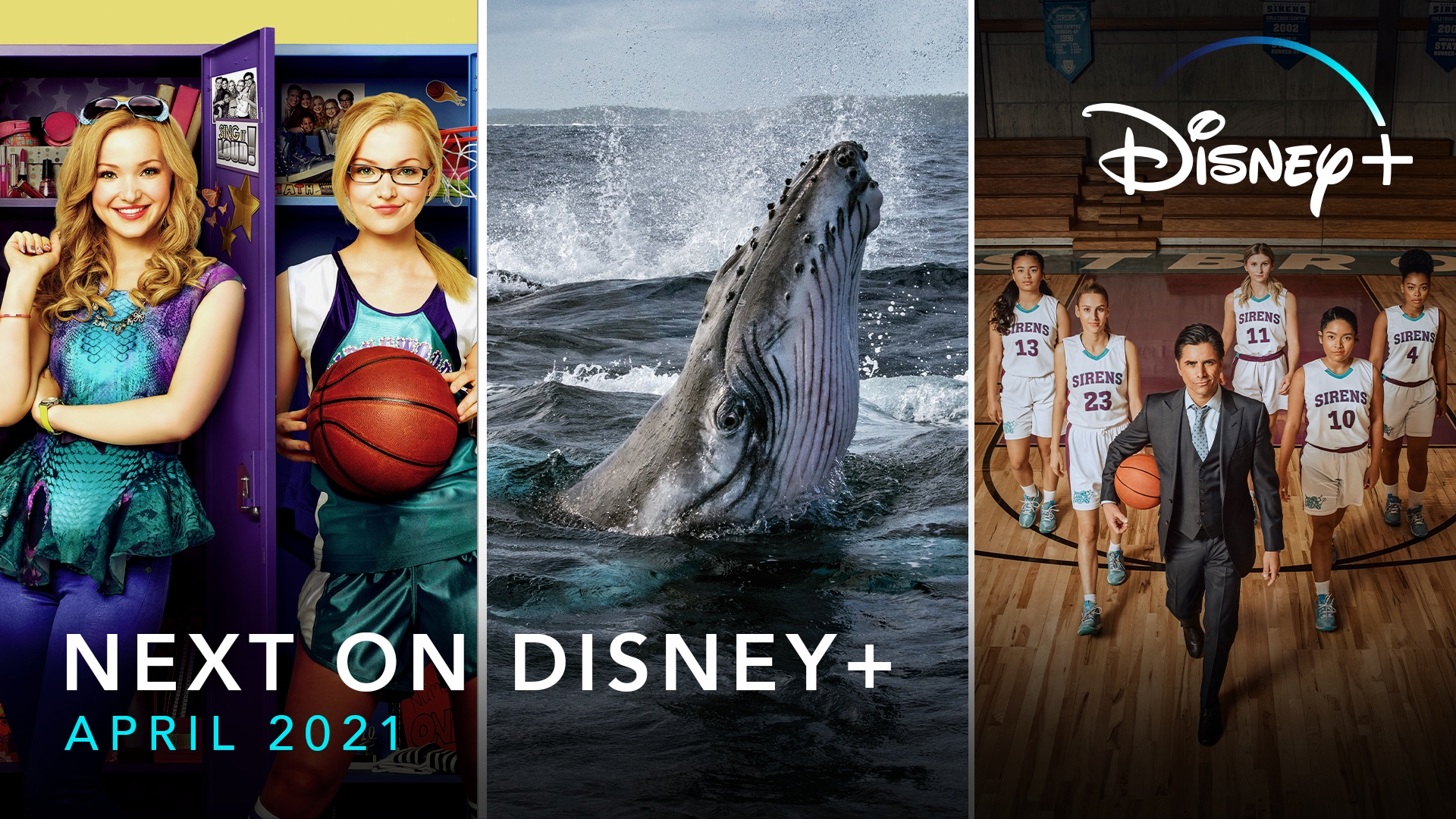 Next On Disney+ - April | Disney+