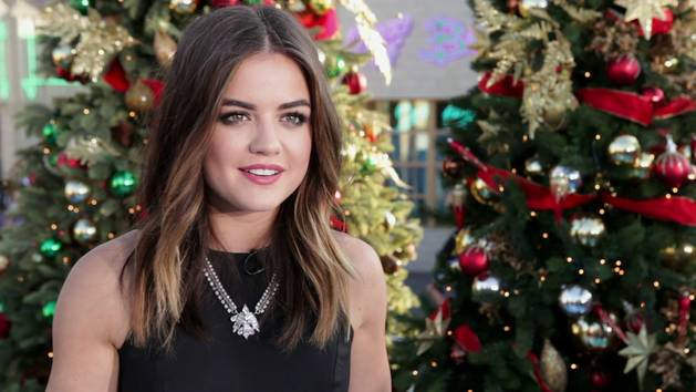 Lucy Hale Talks Style During the Holidays