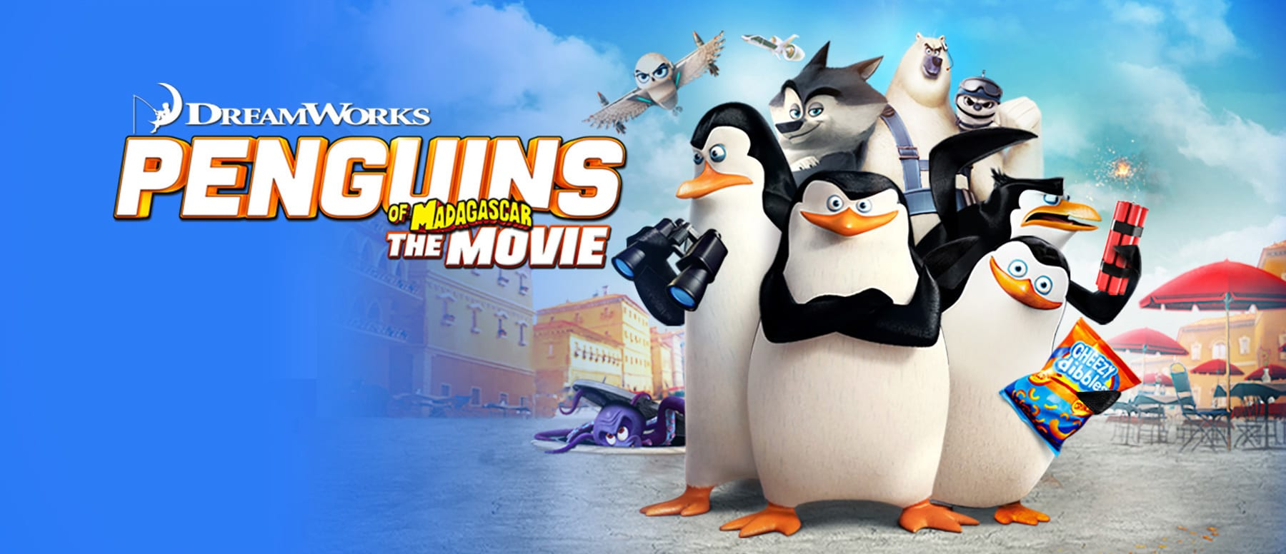 Penguins of Madagascar Hero