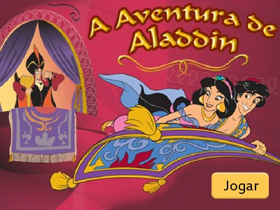 A aventura de Aladdin