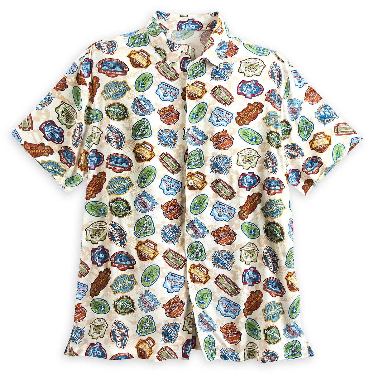 68494f12af0d Product Image of Disney Vacation Club Woven Shirt for Men # 1