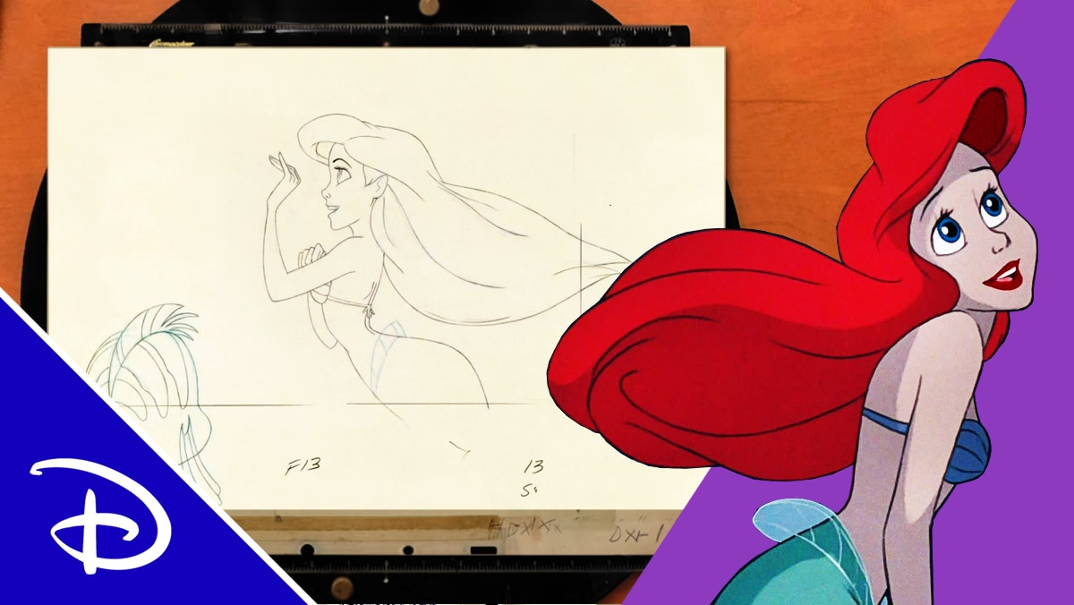 Imagination to Animation: The Little Mermaid | Disney
