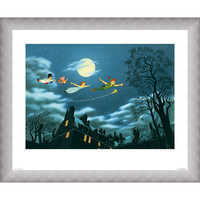 Image of Peter Pan ''And Away They Flew to Never Land'' Giclé # 4
