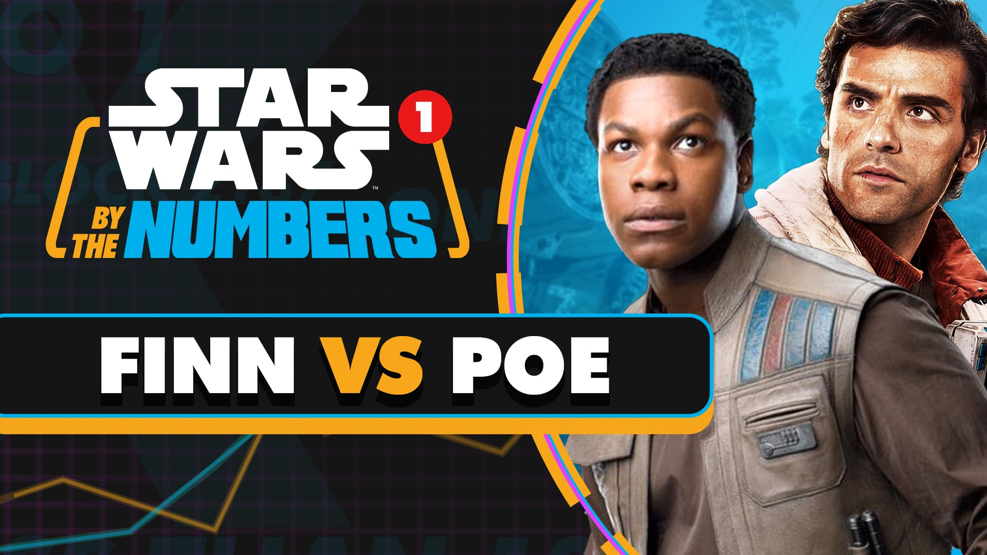 Every Time Someone Says Finn or Poe in the Sequel Trilogy | Star Wars By the Numbers
