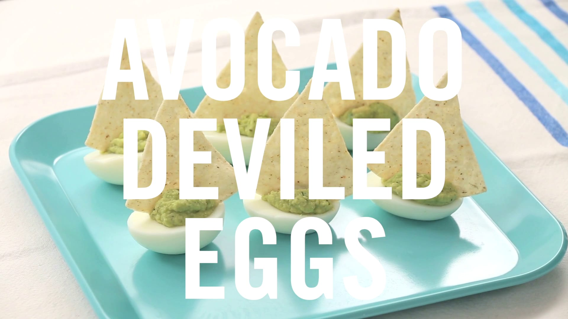 Avocado Deviled Eggs | Babble Eats