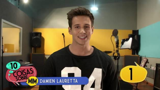 10 coisas sobre mim: Damien Lauretta
