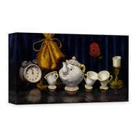 Image of ''Time for Tea'' Giclée on Canvas by Clinton Hobart # 1
