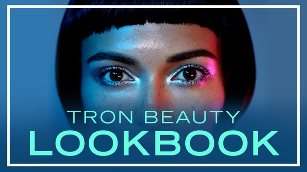 Tron Beauty Lookbook