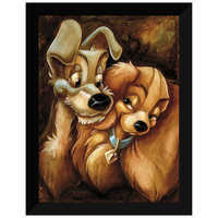 Image of ''Lady and the Tramp'' Giclée by Darren Wilson # 6