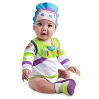 Image of Buzz Lightyear Costume Bodysuit for Baby # 2