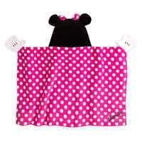 Image of Minnie Mouse Hooded Towel for Baby - Personalizable # 2