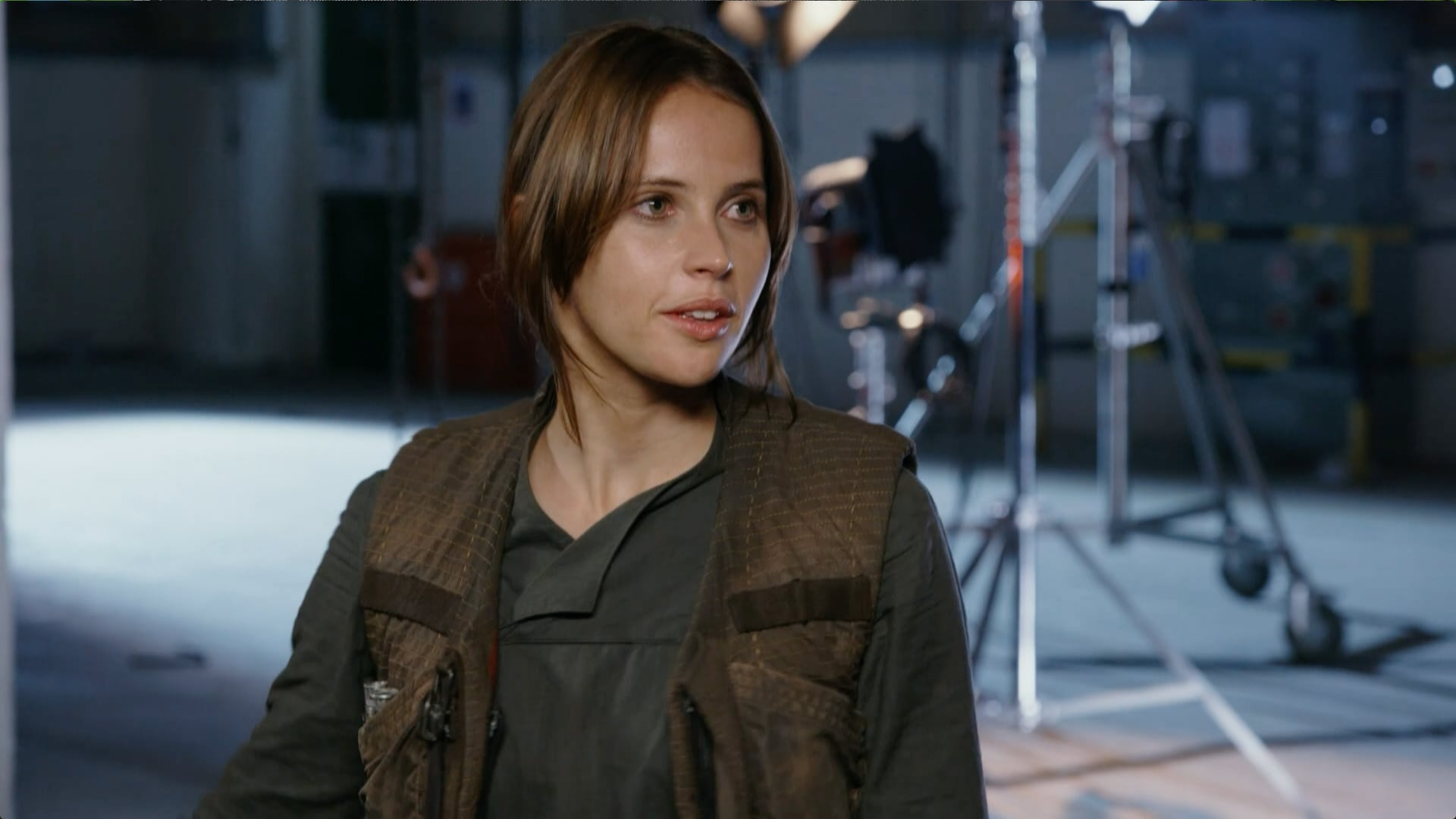 Felicity Jones, a protagonista de Rogue One