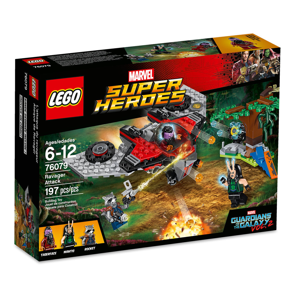 Ravager Attack Playset by LEGO  Guardians of the Galaxy Vol 2