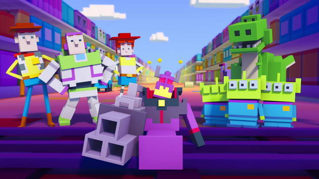 Disney Crossy Road The Animated Series Toy Story Disney Video