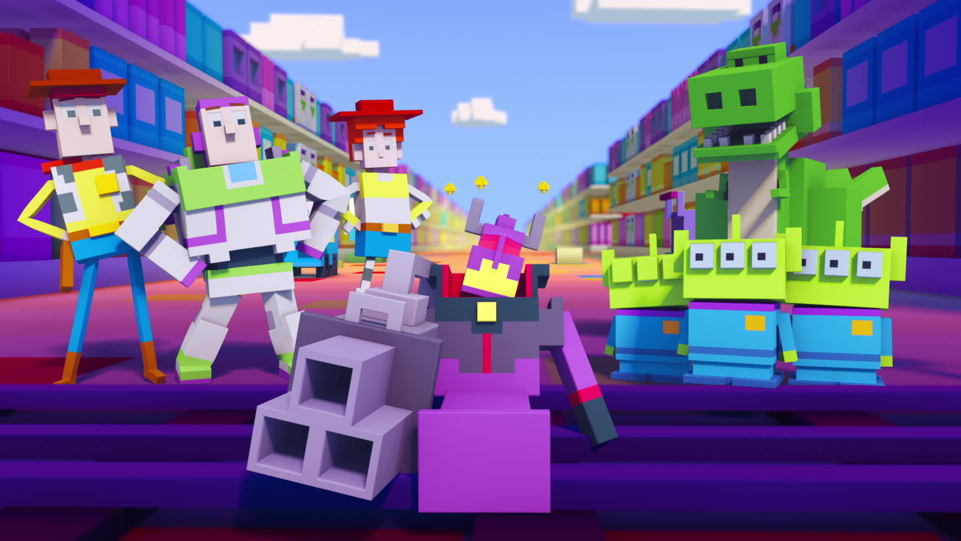 Disney Crossy Road | The Animated Series | Toy Story